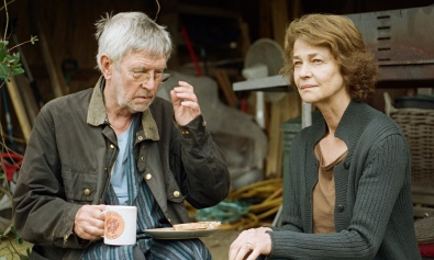 Tom Courtenay and Charlotte Rampling as Geoff and Kate in 45 Years.