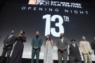 """NEW YORK, NY - SEPTEMBER 30: Director Ava DuVernay, Common, Jelani Cobb and Cindy Holland attend the 54th New York Film Festival Opening Night Gala Presentation and """"13th"""" World Premiere with Intro and Q&A at Alice Tully Hall at Lincoln Center on September 30, 2016 in New York City. (Photo by Theo Wargo/Getty Images)"""