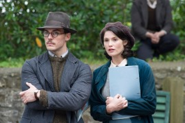 M78 Sam Clafin and Gemma Arterton star in EuropaCorp's Their Finest. PHOTO CREDIT – NICOLA DOVE © British Broadcasting Corporation / Their Finest Limited 2016