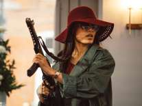 Freida Pinto as Jas Mitra in Guerrilla (Episode 4). Photo: Sky UK Limited/SHOWTIME