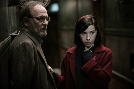 Richard Jenkins and Sally Hawkins in the film THE SHAPE OF WATER. Photo by Kerry Hayes. © 2017 Twentieth Century Fox Film Corporation All Rights Reserved