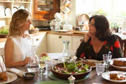 Delicious - Series 02 Episode 01 Emilia Fox as Sam and Dawn French as Gina.