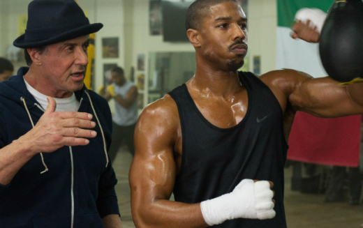 creed II spry film review 2