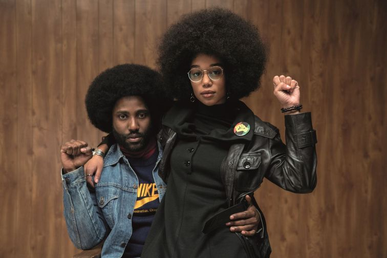 BlacKkKlansman spry film review 2