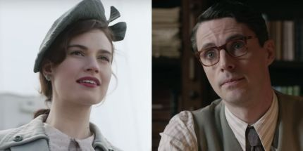 Guernsey Literary and Potato Peel Pie Society spry film review 5