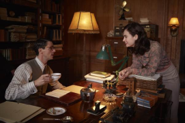 Guernsey Literary and Potato Peel Pie Society spry film review 6