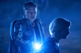 WARNING: Embargoed for publication until 00:00:01 on 14/10/2018 - Programme Name: Doctor Who Series 11 - TX: n/a - Episode: The Ghost Monument (No. 2) - Picture Shows: ++Strictly embargoed until 00.01 hours Sunday October 14th, 2018+++ Epzo (SHAUN DOOLEY), The Doctor (JODIE WHITTAKER) - (C) BBC / BBC Studios - Photographer: Coco Van Opens