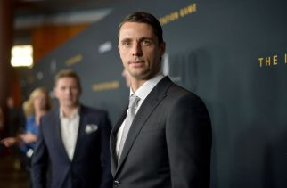"""LOS ANGELES, CA - NOVEMBER 10: Actor Matthew Goode attends The Weinstein Company's """"The Imitation Game"""" Los Angeles special screening hosted by CHANEL on November 10, 2014 in Los Angeles, California. (Photo by Charley Gallay/Getty Images for The Weinstein Company)"""